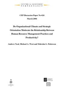 relationship between economics and human resource management