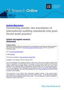 philippine standards on auditing pdf