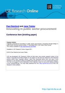 what is public procurement pdf
