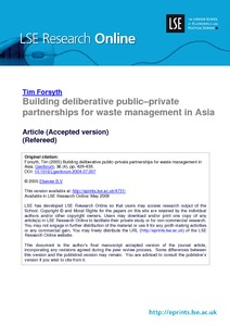 """environmental policy paper in philippines 1 this section largely cites dr cesar saldana's paper entitled """"philippine corporate governance environment and policy and their impact on corporate performance"""" the paper was presented in a conference on corporate governance in."""