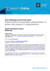 the subject and power foucault pdf