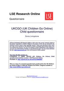 questionnaire on child labour pdf