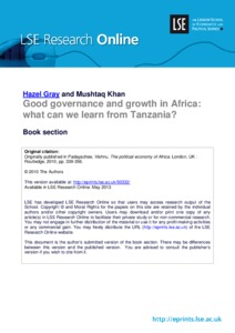 governance and leadership in africa pdf