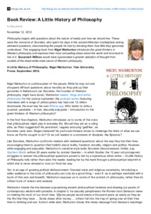 Little history pdf a of philosophy