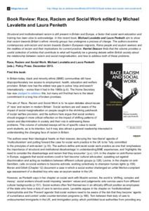 race and racism in britain review The term institutional racism describes societal patterns that oppress certain groups on the basis of race or ethnicity.