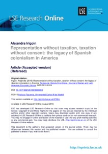Taxation without representation essay