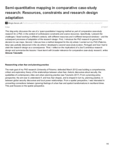 comparative case study research design A causal-comparative design is a research design that seeks to find relationships between independent and  qualitative research case study content analysis.