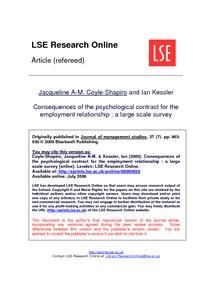 coyle shapiro the employment relationship management